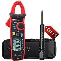 nktech TL-1destornillador UNI-T UT210E Mini Handheld RMS AC DC voltaje de corriente Mini Digital Clamp Meter Resistencia Capacitancia 2000counts amperímetro voltímetro probador mulitmeter
