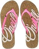 O'Neill Damen FW Logo Cork Flip Flops Zehentrenner, (4091 Shocking Pink), 39 EU