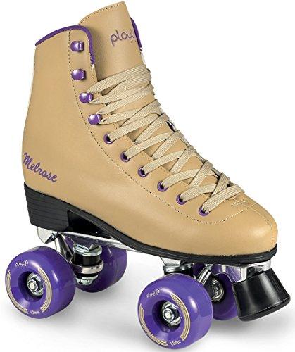 Und Trucks Roller Wheels Skate (CHAYA Damen Melrose Rollschuhe, Ocher, 40)