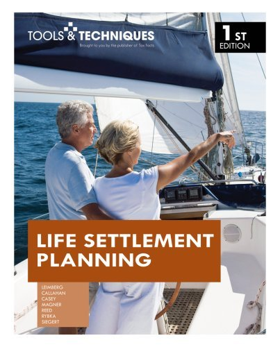 Tools & Techniques of Life Settlement Planning by Stephan R. Leimberg (2008-10-23)