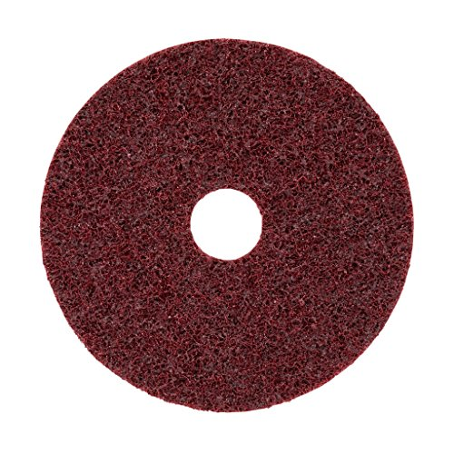 Scotch-Brite Surface Conditioning Disc SC-DH, 115 x 22 mm, 1 Hole, A MED -  Red, 1 piece / carton
