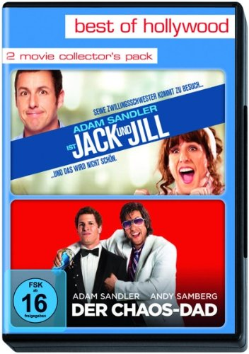 Best of Hollywood - 2 Movie Collector's Pack: Jack and Jill / Der Chaos-Dad [2 DVDs] (Jack Und Jill Film-dvd)