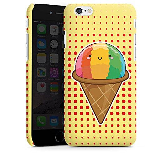 Apple iPhone X Silikon Hülle Case Schutzhülle Eis Regenbogen Sommer Premium Case matt