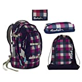 Satch Pack - Set 4 tlg. - Berry Carry - Schulrucksack + Sportbeutel + Penbox + Geldbörse