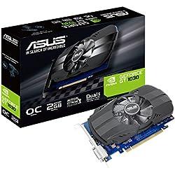 Asus Carte Graphique Nvidia PH-GT1030-02G 1506 MHz 2 GB GDDR5 PCI-Express 3.0
