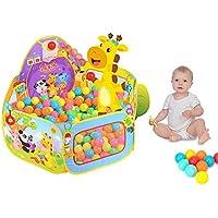 SKL Piscina de bolas, Parque para bebés / niños Piscina de bolas Piscina interior y exterior con niños pequeños Juguetes para niños Regalos (bolas no incluidas)