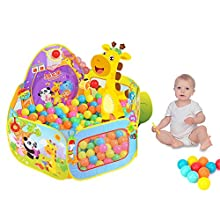 SKL Play Tent,Baby / Kids Playpen Ball Pit Pool Indoor and Outdoor with Toddler Children Toys for Kids Gifts