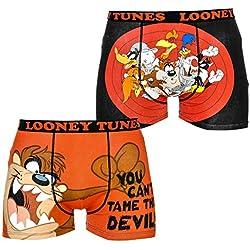 Character Herren Boxershort Gr. L, Looney Tunes 2 Pack Boxers
