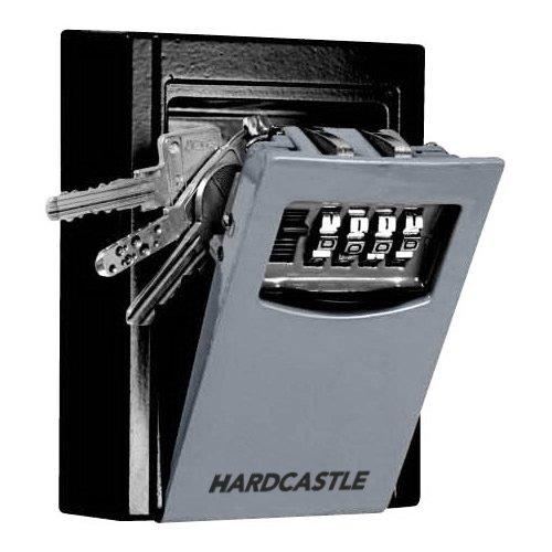 Hardcastle Cassaforte portachiavi in acciaio per installazione a parete con chiusura a combinazione