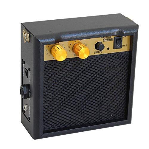 Max Electronics Flanger PG-5 5W High-Sensitivity Chitarra Elettrica Amp Amplificatore Altoparlante Volume Tono Controllo per Acustica/Elettrica Chitarra Ukulele