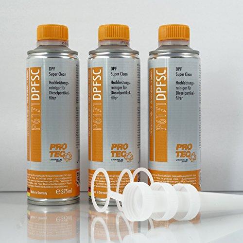 Preisvergleich Produktbild 3 x 375 ml Hochleistungsreiniger für Dieselpartikelfilter DPF P6171 DPFSC