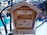 BTV Weihnachtskrippe hbk-sd-natur Briefkasten Holz unbehandelt, groß