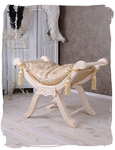 Venezianischer Hocker, Schemel, Sitzmöbel, Sitzplatz, Stuhl, Sessel, Stockerl, Sitz mit...