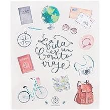 Lovely Streets - Álbum con mensaje La vida es un bonito viaje, multicolor
