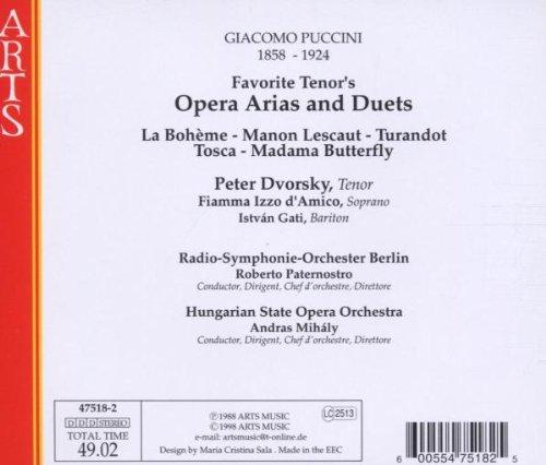 Puccini Opera Arias & Duets