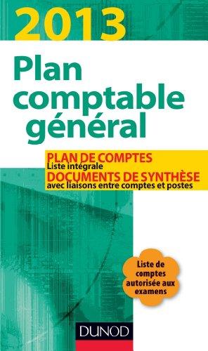 Plan comptable général 2013-17e éd. - Plan de comptes & documents de synthèse: Plan de comptes & documents de synthèse (dépliant séparé) par Christian Raulet