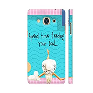 Colorpur Samsung J3 Pro Cover - Soul Time Printed Back Case