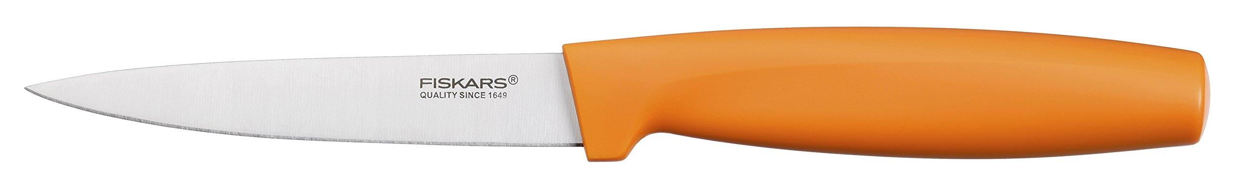 Fiskars 1014255FF Coltello per verdure, colore: arancione