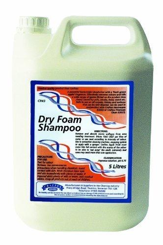 Craftex Dry Schiuma Shampoo Da 5 Litri C/W greenmybusiness Fogli