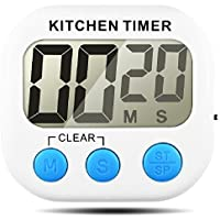 Senhai Timer da Cucina  conteggio up Down Grande Display LCD elettronico Timer Memoria