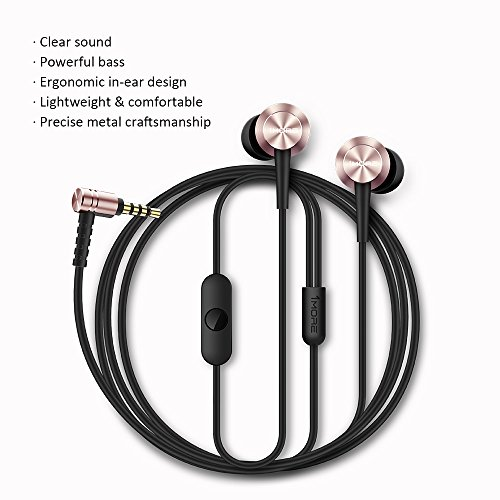 1More E1009 Wired Earphones (Pink)