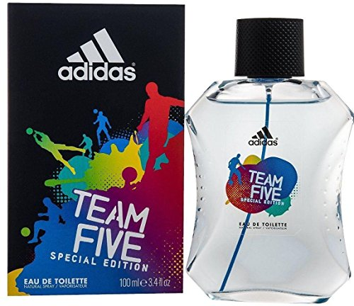 Adidas - Team Five - Eau de toilette para hombres - 100 ml