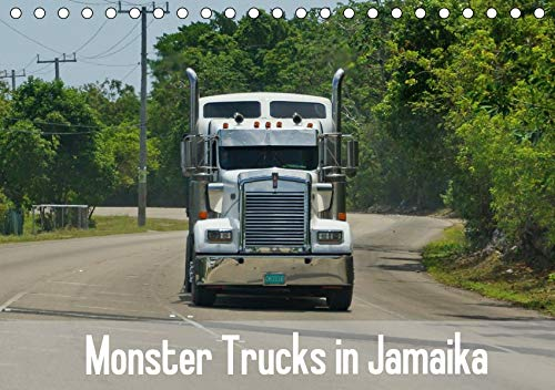 Monster Trucks in Jamaika (Tischkalender 2020 DIN A5 quer): Die Straßen von Jamaika und die großen Trucks. (Monatskalender, 14 Seiten ) (CALVENDO Mobilitaet) (Monster-truck-kalender)