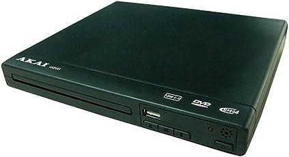 Akai akdv01–DVD-Player mit USB und MP4, Schwarz