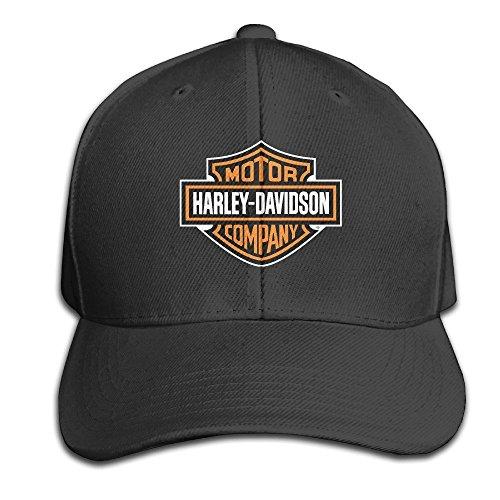 Feruch Unisex Harley-Davidson Logo Adjustable Hat Baseball Cap - Black Black (Baseball-cap Harley Von Davidson)
