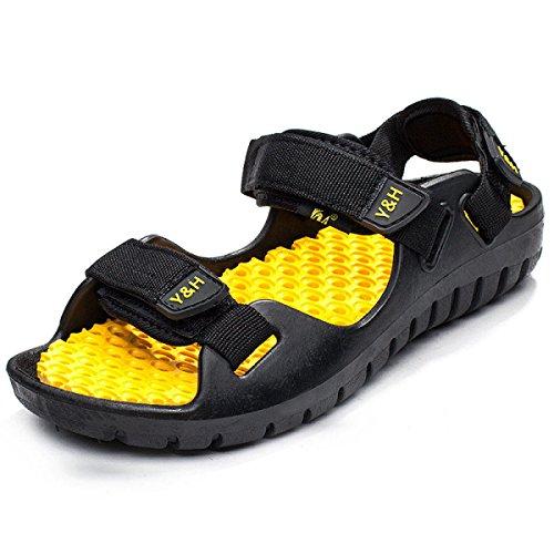 Herren Outdoor Waten Sandalen Strandschuhe Mehrfarbig Multi-size Yellow