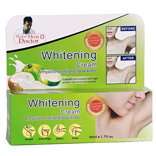 Crema blanqueadora natural fuerte para axilas