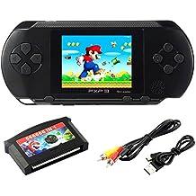 """SZZHCKJ 2,7 """"LCD portátil consola de juegos PXP 3 16bit Retro Jugador de videojuegos Juguetes para niños Niño Niños Best Gifts 100+ Juegos"""