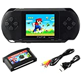SZZHCKJ Console de jeu pour ordinateur portable LCD 2,7 'PXP 3 16bit Retro Video Game Player Jouets pour enfants Enfants Boy Best Gifts 100+ Games