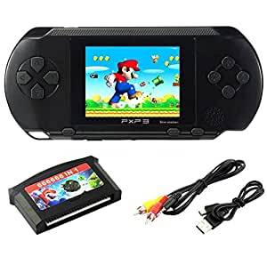 szzhckj console de jeu pour ordinateur portable lcd 2 7 pxp 3 16bit retro video game player. Black Bedroom Furniture Sets. Home Design Ideas
