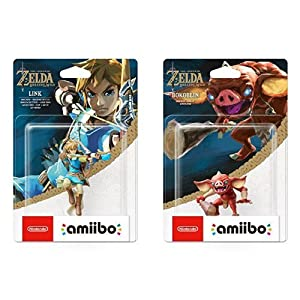 amiibo The Legend of Zelda Collection Link Bogenschütze (Breath of the Wild) & amiibo The Legend of Zelda Collection Bokblin (Breath of the Wild)