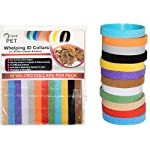 Whelping ID Collars for Newborn Puppies and Kittens - Easy to Identify and Monitor Each - Double Sided Fabric, Making… 9