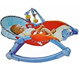 Toyshine Newborn to Toddler Vibrating Rocker Chair with Calming Vibrations, Adjustable Mode
