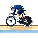 Tarjeta de felicitación de Juegos Olímpicos de 2016 Rio de Jason Kenny - Sprint Individual