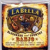Labella 730l Banjo - Jeu De Cordes
