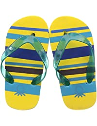 United Colors of Benetton Unisex Kid's Yellow Flip-Flops-13 UK (26 EU) (17A8CFFPU847I)