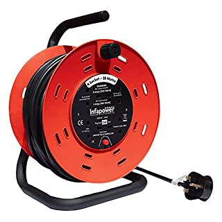 INFAPOWER X814 4 Socket 13 A 25 m Cable Reel