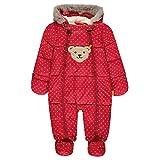 Steiff Baby-Mädchen Schneeanzug Schneeoverall, Rot (y/d Stripe|Multicolored 0001), 80