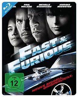 Fast & Furious - Neues Modell. Originalteile. - Steelbook [Blu-ray]