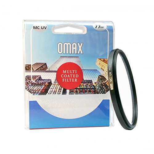 Omax 77mm Multi Coated Ultra Violet (UV) Filter for Canon EF 70-200mm f/2.8L IS II USM, Canon EF 24mm f/1.4L II USM, Canon EF-S 17-55 f/2.8 IS USM, Canon EF 24-105mm f/4L IS USM, Canon EF-S 10-22mm f/3.5-4.5 USM, Canon EF 28-300mm f/3.5-5.6L IS USM, Canon EF 17-40mm f/4L USM, Canon EF 24-70mm f/2.8L USM, Canon EF 16-35mm f/2.8L USM, Canon EF 70-200mm f/2.8L IS USM, Canon EF 100-400mm f/4.5-5.6L IS USM, Canon EF 24mm f/1.4L USM, Canon EF 300mm f/4L IS Lens  available at amazon for Rs.695