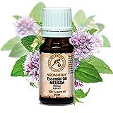 Huile Essentielle Mélisse 20ml - 100% Pure et Naturelle - pour Bien Dormir - Soulagement du Stress - Soins Corporels - Massage - SPA - Diffuseur D'arôme - Lampe Aromatique - NON Diluée