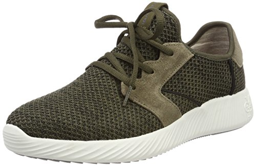 Marc O'Polo Herren 80124313501601 Sneaker, Grün (Oliv Multi), 42 EU