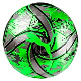 Puma Future Flare, Pallone da Calcio Unisex-Adulto, Verde (Green Gecko Black/Charcoal Gray), 5