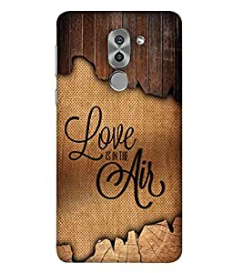 PrintVisa Designer Back Case Cover for Huawei Honor 6X (Love Lovely Attitude Men Man Manly)