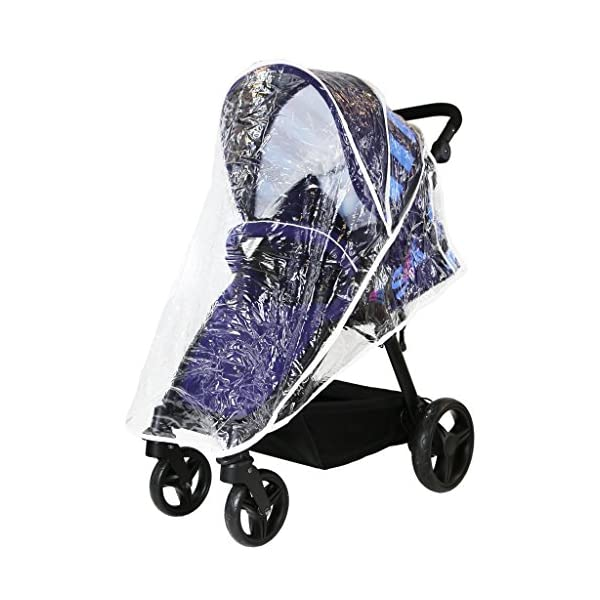 Sail Stroller - Plum Includes Bumper Bar Rain Cover Bootcover Sail Seamless Ride, High Built Quality, Amazing Features Media Viewing Tablet Pocket + One Hand Fold Away Extendable Hood, Provides Additional Shade And Privacy 6