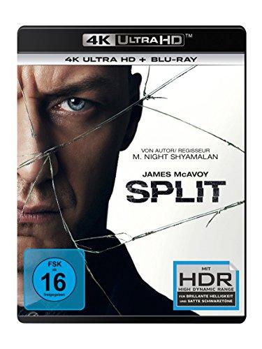 Split - Ultra HD Blu-ray  [4k + Blu-ray Disc]